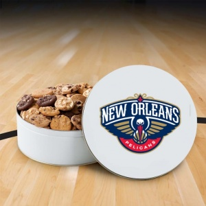 New Orleans Pelicans 112 Nibbler Tin
