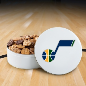 Utah Jazz 112 Nibbler Tin
