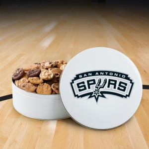 San Antonio Spurs 112 Nibbler White Tin