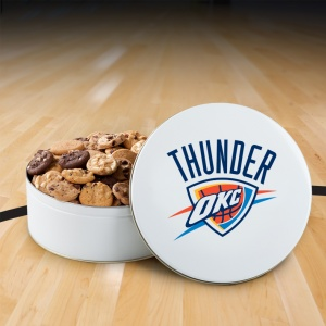 Oklahoma Thunder 112 Nibbler White Tin