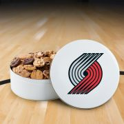Portland Trailblazers 112 Nibbler White Tin