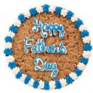 Happy Fathers Day Cookie Cake