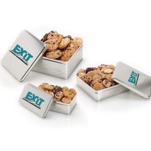 Exit Realty Silver Tins