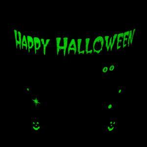 All Hallows Eve Pail - Glow-in-the-dark