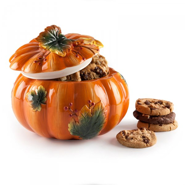 Pumpkin Patch Cookie Jar