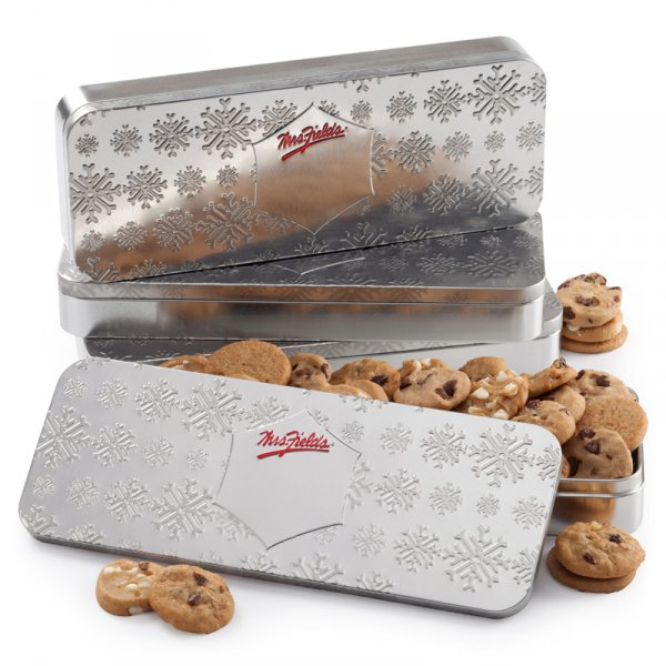 Embossed Snowflake Tin by the Case