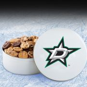 Dallas Stars 54 Nibbler White Tin