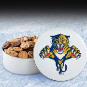 Florida Panthers 54 Nibbler White Tin