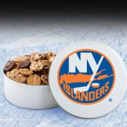 New York Islanders 54 Nibbler White Tin
