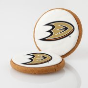 Anaheim Ducks Logo Cookies