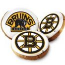 Boston Bruins Logo Cookies