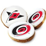 Carolina Hurricanes Logo Cookies