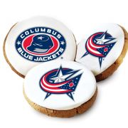 Columbus Bluejackets Logo Cookies