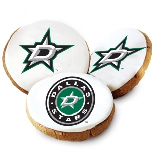 Dallas Stars Logo Cookies