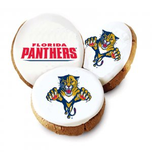 Florida Panthers Logo Cookies