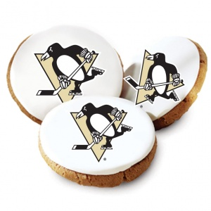 Pittsburgh Penguins Logo Cookies