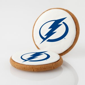 Tampa Bay Lightning Logo Cookies