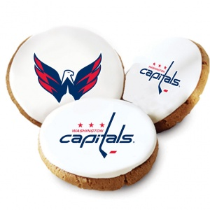 Washington Capitals Logo Cookies