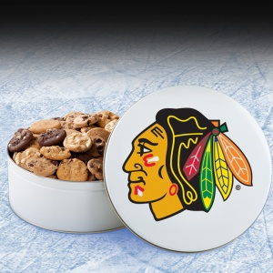 Chicago Blackhawks 112 Nibbler White Tin