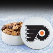 Philadelphia Flyers 112 Nibbler White Tin