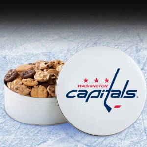 Washington Capitals 54 Nibbler White Tin