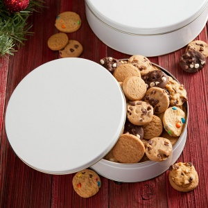 Holiday Personalized Cookie Tin