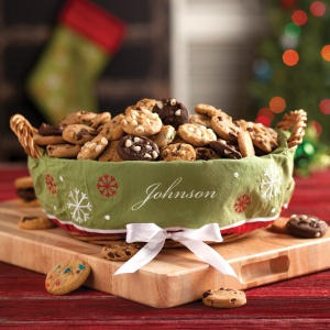 Winter Delights Customizable Basket