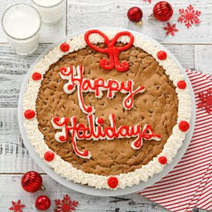 Happy Holidays Cookie Cake