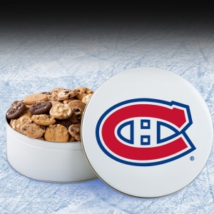 Montreal Canadiens 54 Nibbler White Tin