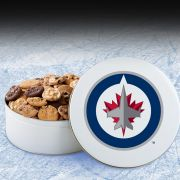 Winnipeg Jets 54 Nibbler White Tin