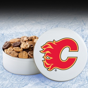 Calgary Flames Large Tin