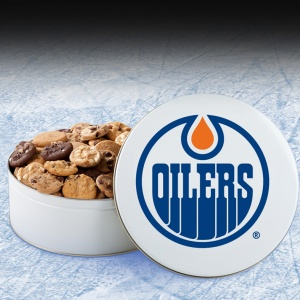 Edmonton Oilers Large Tin