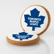 Toronto Maple Leafs Logo Cookies