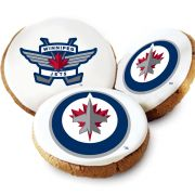 Winnipeg Jets Logo Cookies