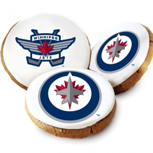 Winnipeg Jets8482 Logo Cookies