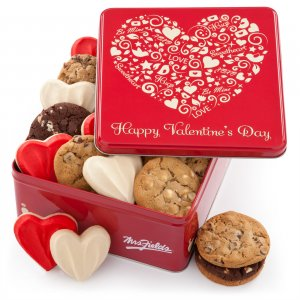 Loveable Tin with Frosted Cookies