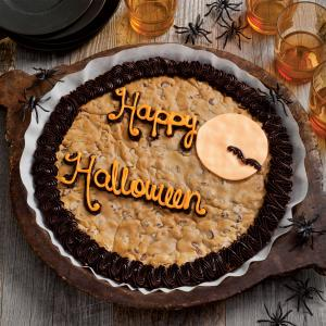 Happy Halloween Cookie Cake - Happy Halloween