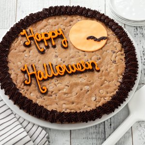Happy Halloween Cookie Cake - Happy Halloween Cookie Cake