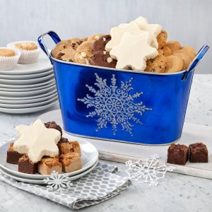 Winter Snowflake Tray