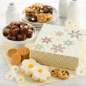 Just in time for Mothers Day this gift idea arrives with Nibblers Brownie Bites  Frosted Cookies
