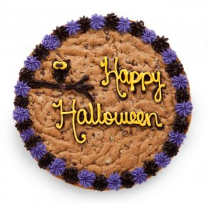 Happy Halloween Cookie Cake 2013
