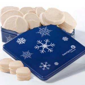 Ameriprise Frosted Snowflake Tin