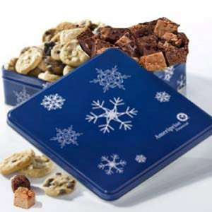 Ameriprise Snowflake CookieBrownie Tin