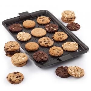 Mrs Fields Cool Bake Pan - With Cookies