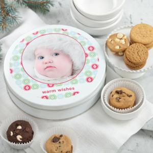 Warm Wishes Personalized Tins