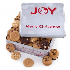 JOY FUL Christmas Tin