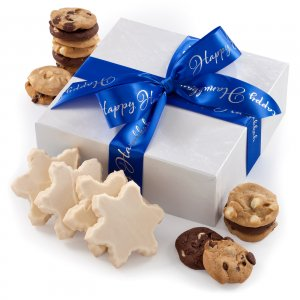 Hanukkah Frosted Combo Box