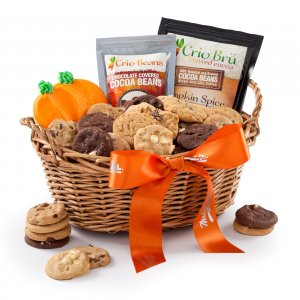 Autumn Cocoa Basket