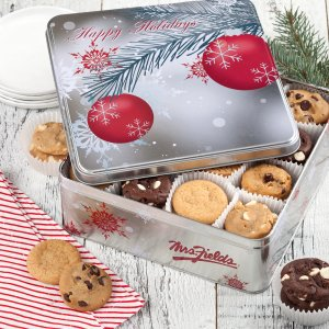 Pine Ornament Holiday Tin