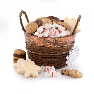 Happy Holidays Basket Combo
